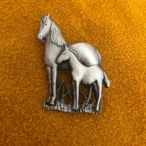 Pin with two horses!!